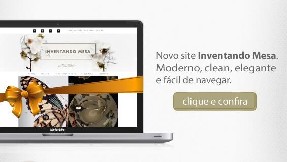 Website Inventando Mesa por Ticha Ribeiro