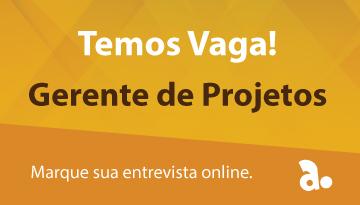 Vaga – Gerente de Projetos
