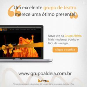 Novo site da Grupo Aldeia Teatro de Bonecos