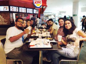Afirma participa de pesquisa de marketing do Burger King